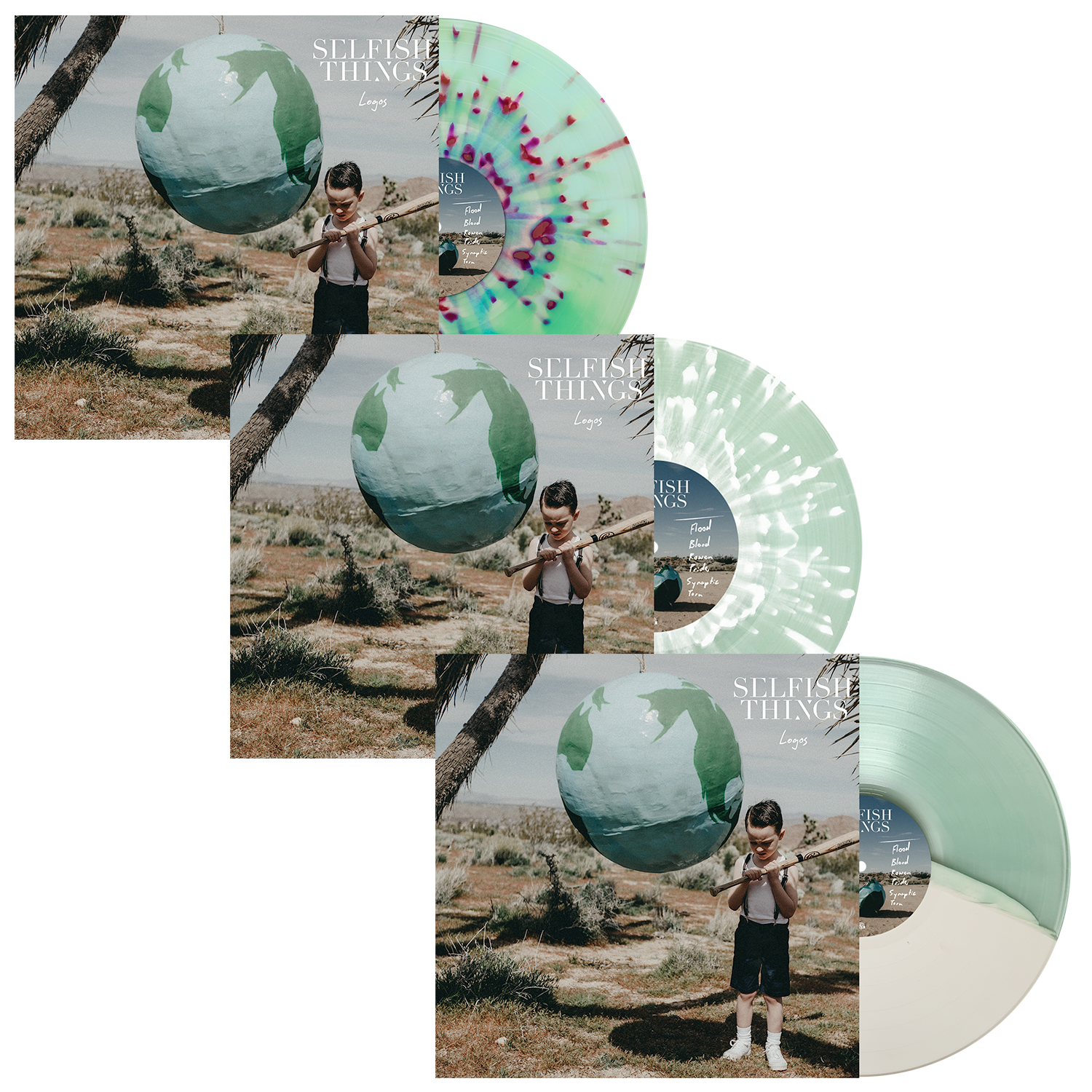 Selfish Things 'Logos' LP Bundle
