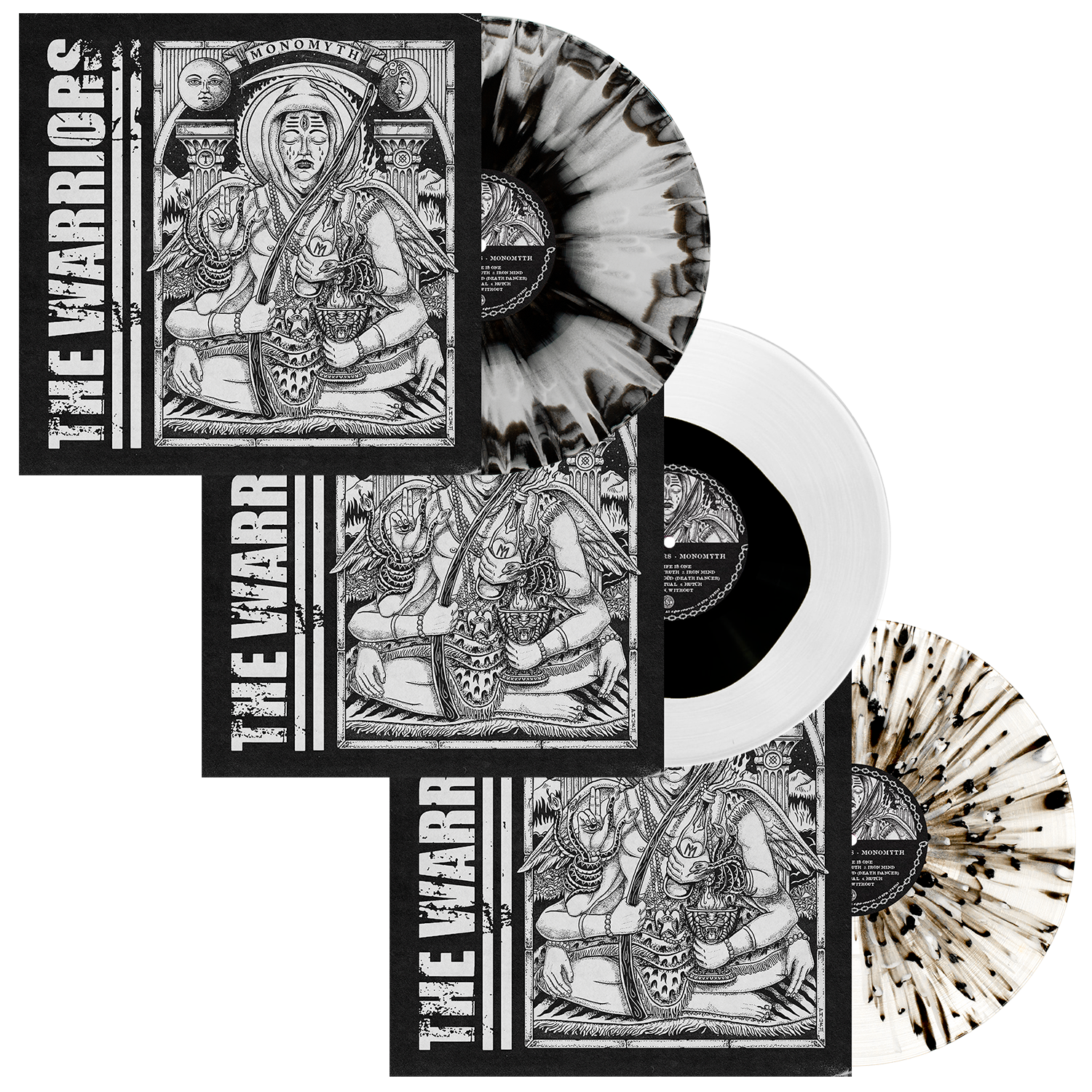 The Warriors 'Monomyth' LP Collection Bundle