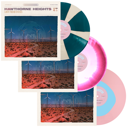 Hawthorne Heights 'Lost Frequencies' LP Collection Bundle