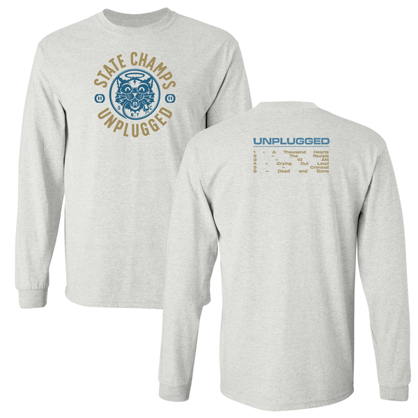 State Champs 'Unplugged' CD + Long Sleeve T-Shirt