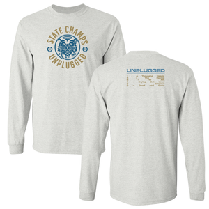 State Champs 'Unplugged' Oatmeal Heather Long Sleeve T-Shirt