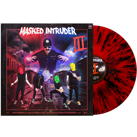 Masked Intruder 'III' LP (PN Store Exclusive 2 - Galaxy Black w/Red(ish))