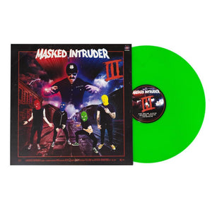 Masked Intruder 'III' LP (Neon Green)