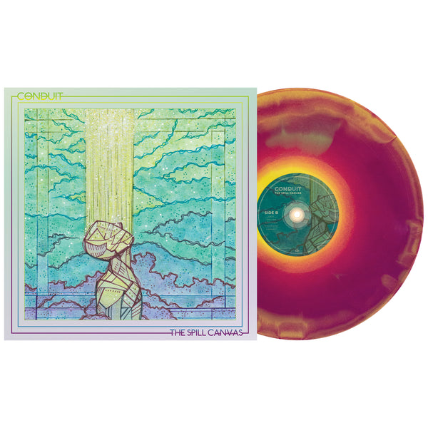 The Spill Canvas 'Conduit' PN Exclusive 2 – Doublemint, Grimace Purple & Easter Yellow aside/bside