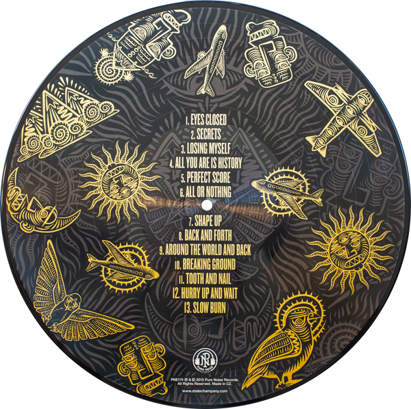 State Champs - Around The World And Back (Picture Disc)