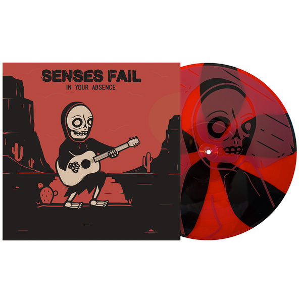 Senses Fail - In Your Absence black & # 11 Blood Red pinwheel