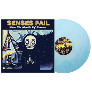 Senses Fail - From the Depths of Dreams P16 baby blue & white galaxy