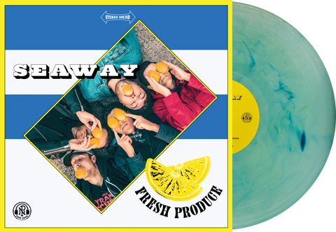 Seaway 'Fresh Produce' LP (PN Store exclusive 2 - Clear with White, Easter Yellow & Cyan Blue Smoke)