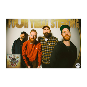 Four Year Strong 'Brain Pain' Poster