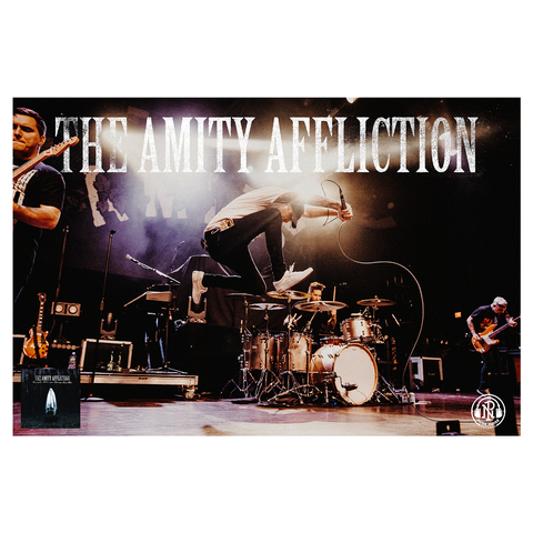 The Amity Affliction 'Everyone Loves You... Once You Leave Them' Poster