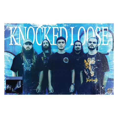 Knocked Loose 'A Different Shade of Blue' Poster