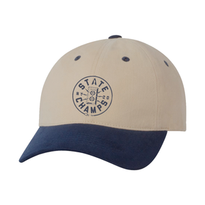 State Champs 'Unplugged' Navy Dad Hat