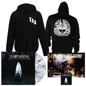 The Amity Affliction 'Everyone Loves You... Once You Leave Them' PN2 EX LP + Hoodie Bundle
