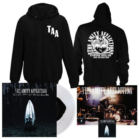The Amity Affliction 'Everyone Loves You... When You Leave Them' VAR 1 LP + Hoodie Bundle