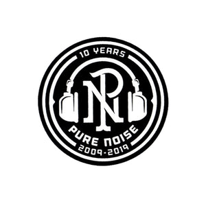 Pure Noise 10 Year Sticker