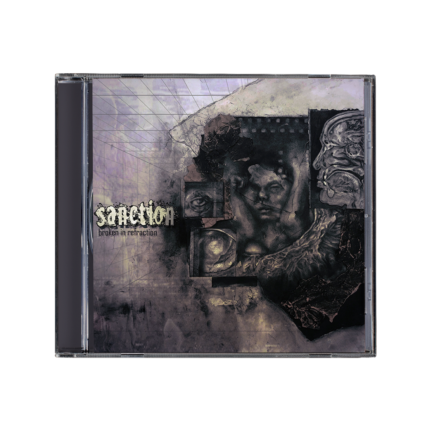 Sanction 'Broken In Refraction' CD