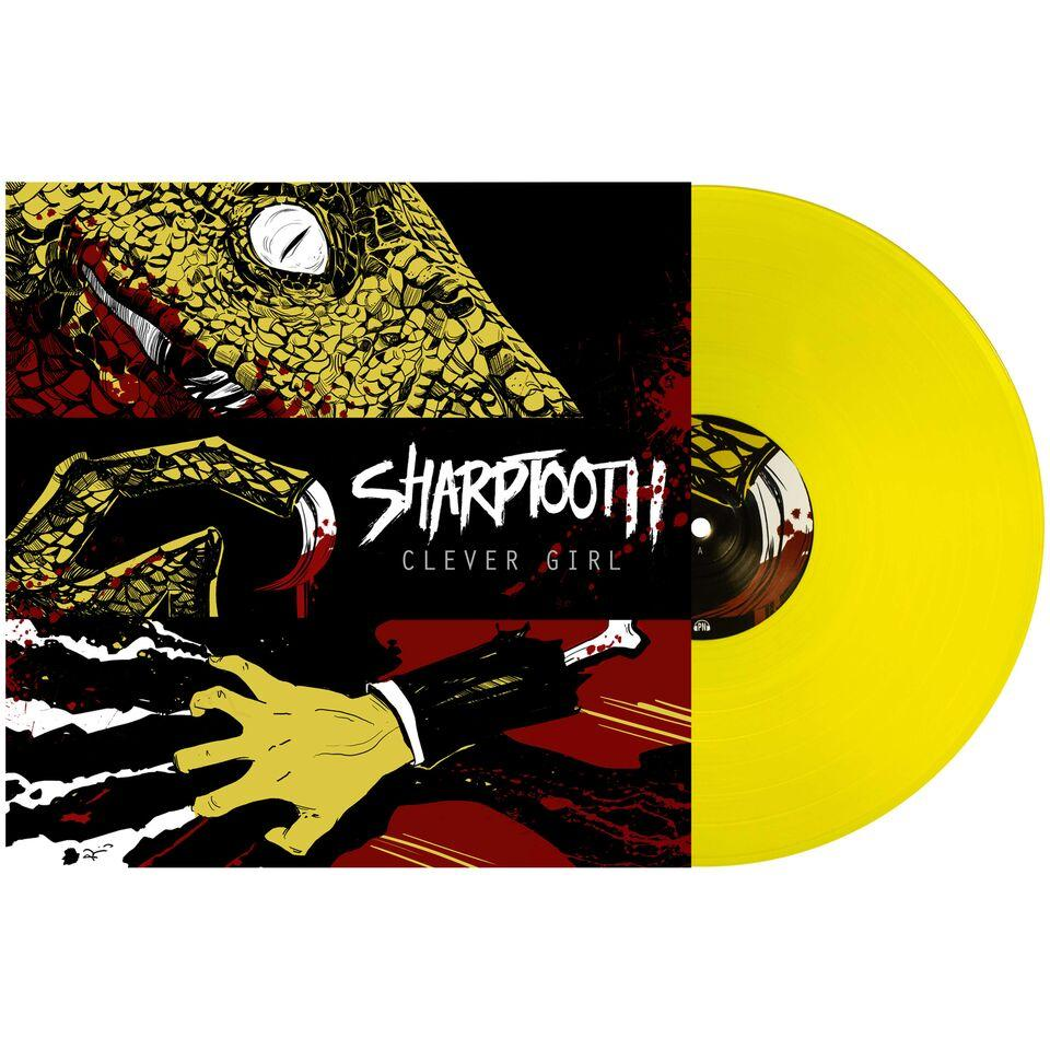 Sharptooth 'Clever Girl' LP (Piss Yellow)