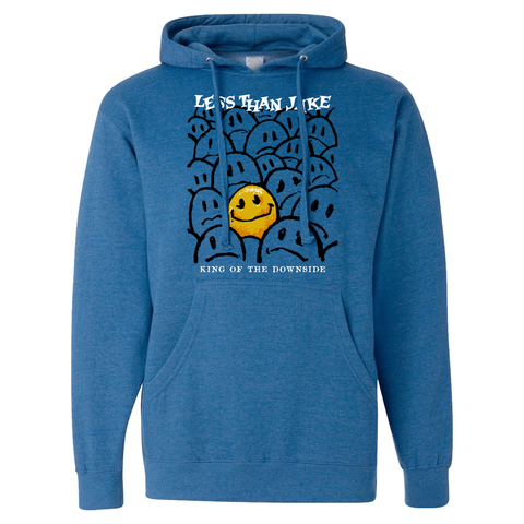 LESS THAN JAKE SMILEY BLUE HOODY