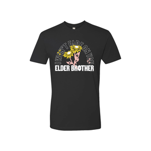 Elder Brother 'I Won't Fade on You' Black T-Shirt