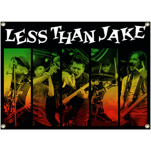 Less Than Jake Silver Linings Flag