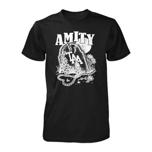 The Amity Affliction 'Everyone Loves You... Once You Leave Them' Gravestone T-Shirt (black)
