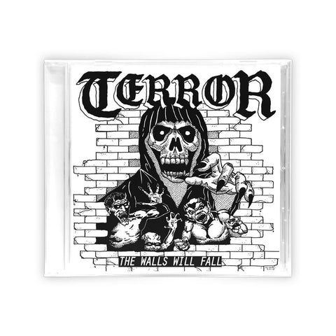Terror 'The Walls Will Fall' CD