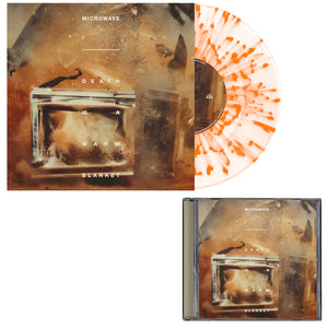 Microwave 'Death Is A Warm Blanket' CD + LP Bundle