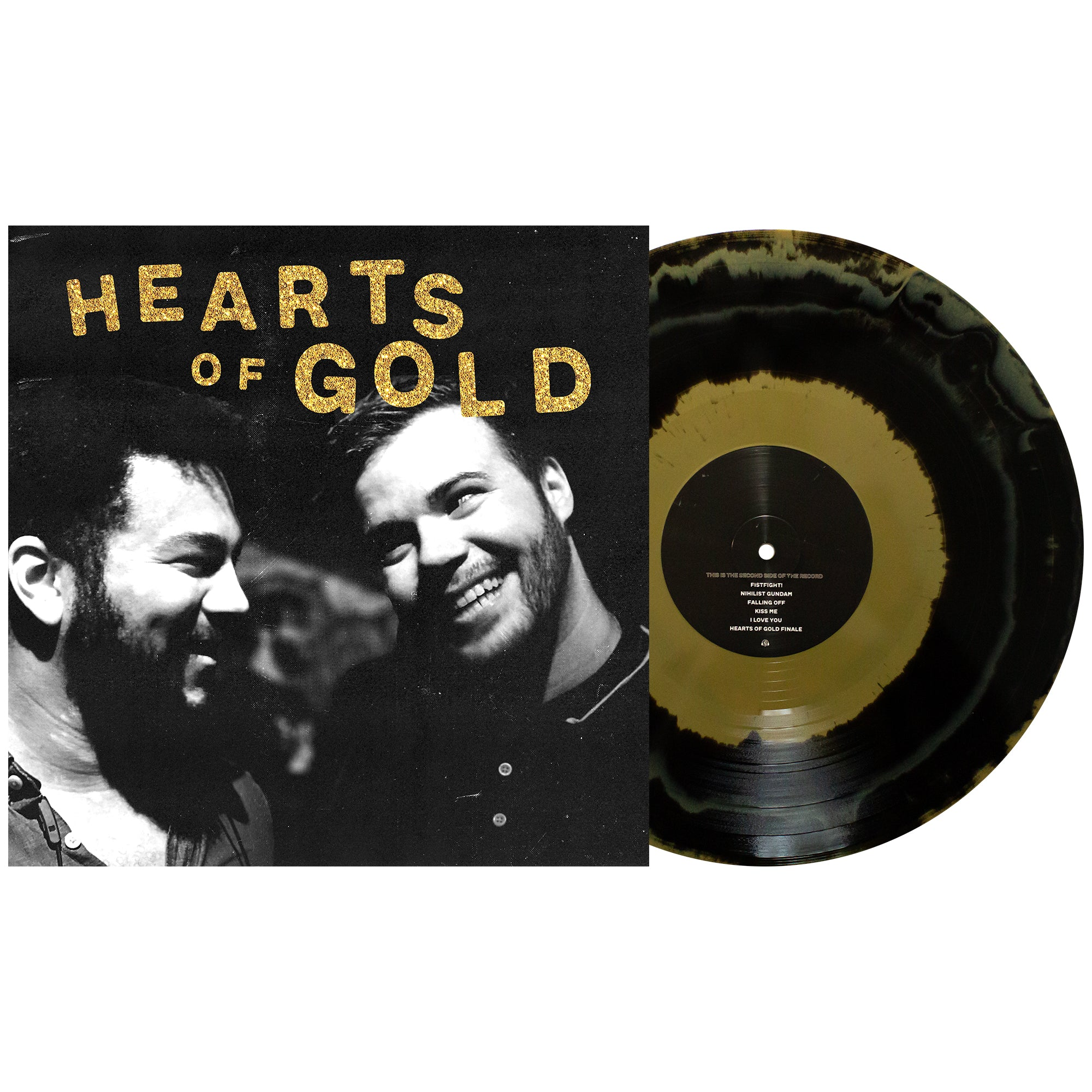 Dollar Signs 'Hearts of Gold' Various 1 – Black & Gold aside/bside