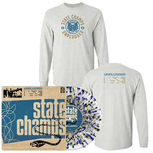 State Champs 'Unplugged' LP (Various) + Long Sleeve T-Shirt