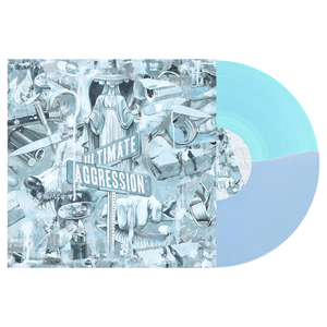 Year of the Knife 'Ultimate Aggression' LP (Half Baby Blue / Half Electric Blue)