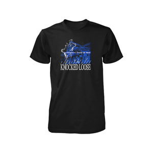 Knocked Loose 'A Different Shade of Blue' Black T-Shirt