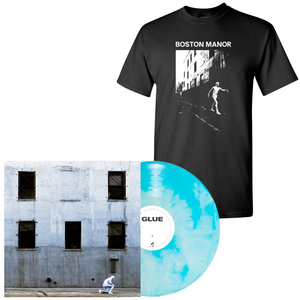 Boston Manor 'GLUE' PN Exclusive 2 LP + Black Tee Bundle