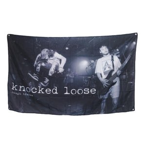 Knocked Loose 'Laugh Tracks Live' Wall Flag