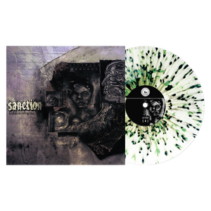 Sanction 'Broken In Refraction' LP Various - Ultra Clear with Heavy Olive Green and Black splatter