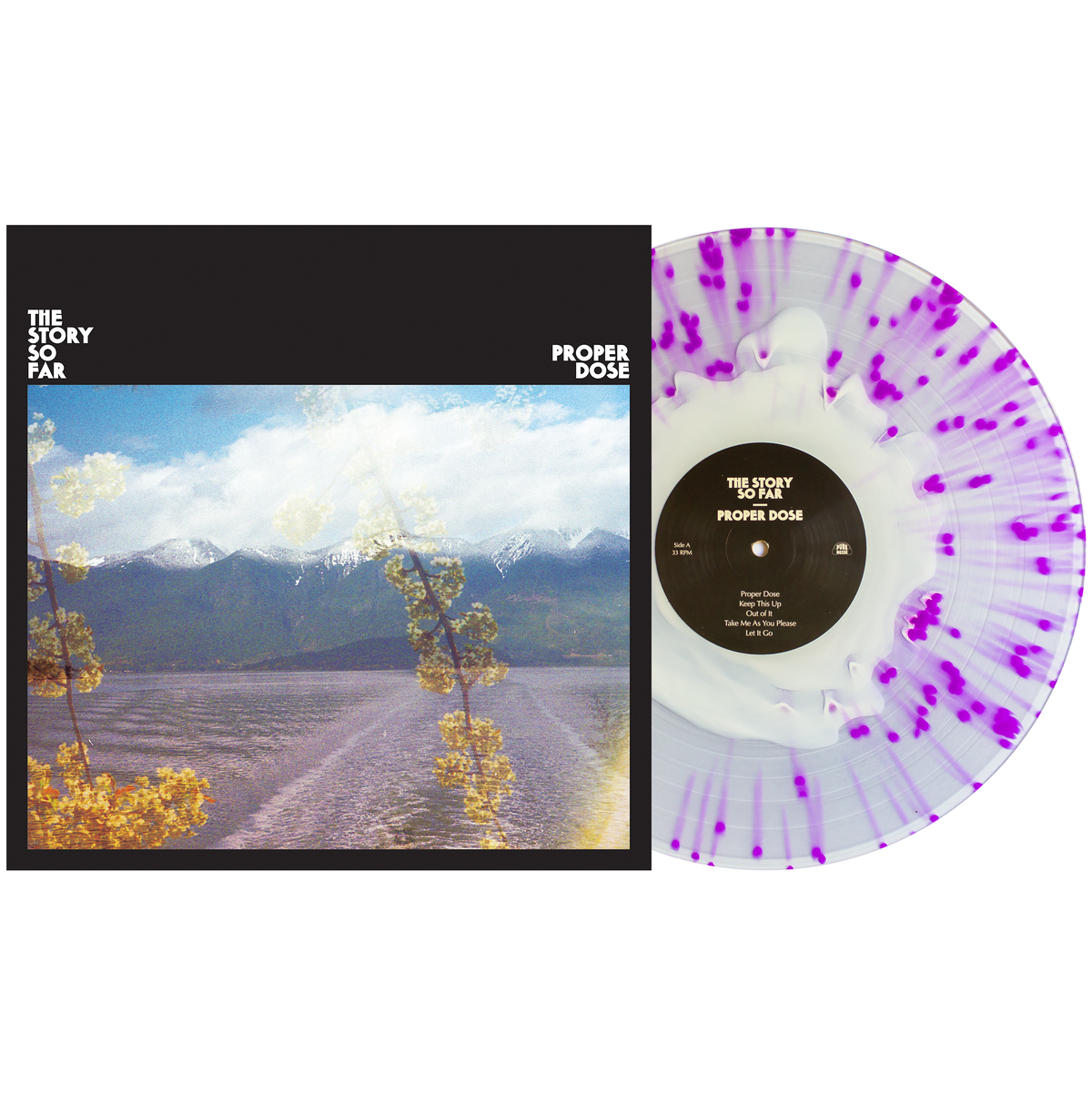 The Story So Far 'Proper Dose' LP (White Clear w/Purple Splatter)