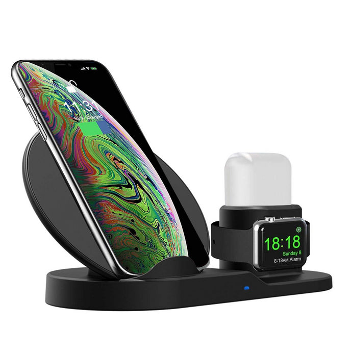 Wiretech™️ 3 in 1 Wireless Fast Charging Station - Dealniche