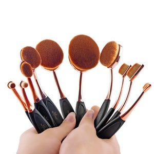 10pcs Professional Makeup Brush Set - Dealniche