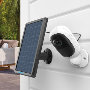 Solar Panel for Security Camera - Dealniche