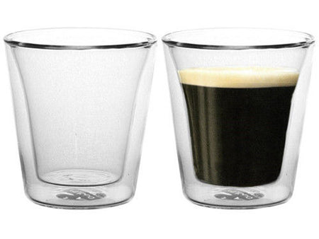 Bodum Canteen 2 Piece Double Wall Glasses 100ml