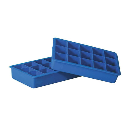 Avanti Silicone 15 Cup Ice Cube Tray 3cm - Set of 2 - Blue