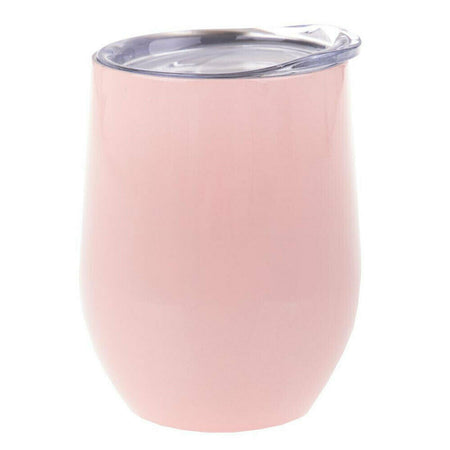 Avanti Double Wall Insulated Wine Tumbler 300ml - Soft Pink