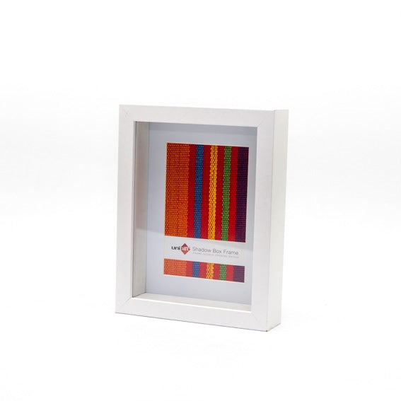 "Shadow Box Frame - White - 4x6""/10x15cm"