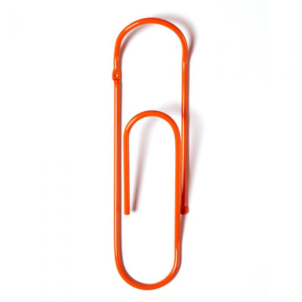 Bendo Paper Clip - Coat Hook - Orange