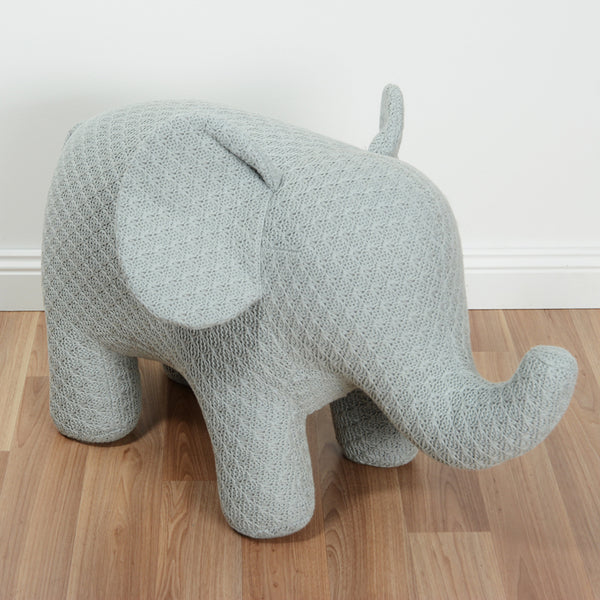 Ellie The Elephant Junior Small Chair - Light Grey