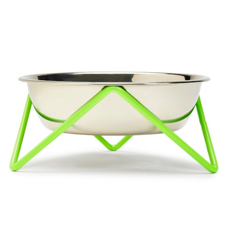 Bendo Meow Cat Bowl - Green