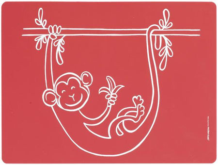 Mini Twist Meal Mat - Monkey