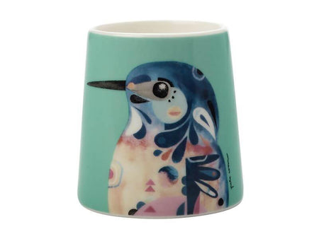 Maxwell & Williams Pete Cromer Egg Cup Azure Kingfisher