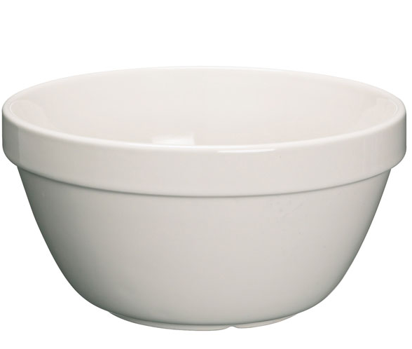 KitchenCraft Stoneware Pudding Basin 600ml