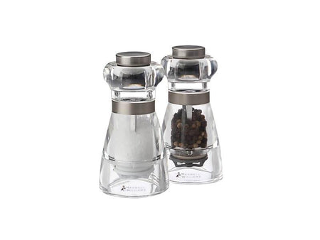 Maxwell & Williams Dynasty Acrylic Salt & Pepper Mill Set 11cm