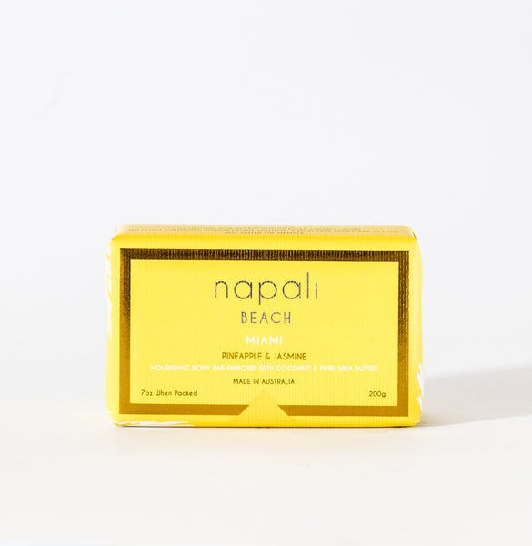 Napali Beach Miami, Pineapple & Jasmine Soap